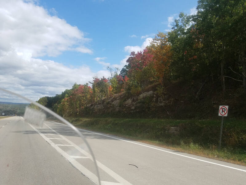 fall color in West Virginia