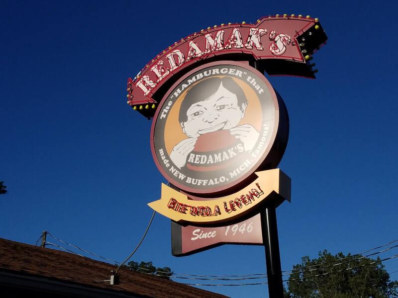 Redamak's sign