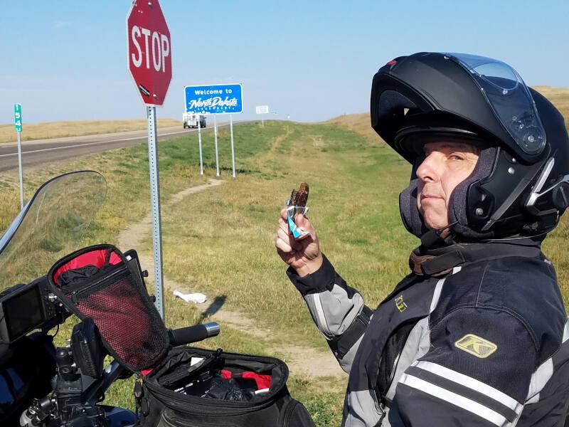 South Dakota state line