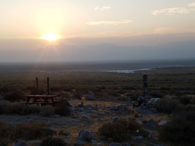 sunrise at IBA memorial