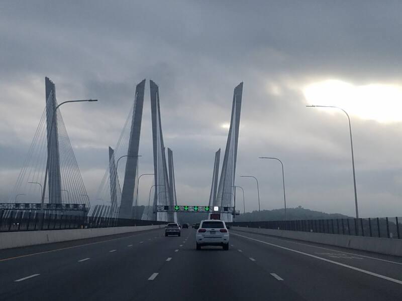 Cuomo Bridge crossing the Hudson