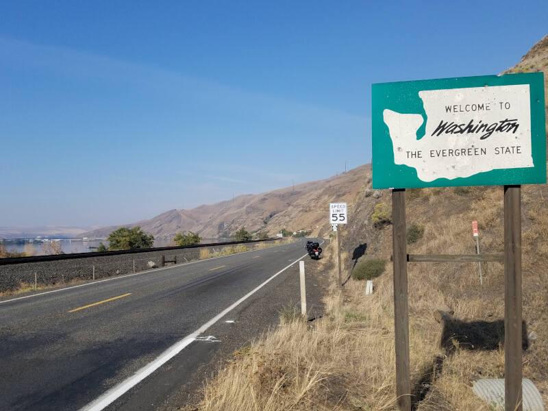 Washington state line