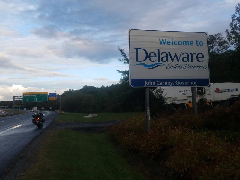 Delaware state line