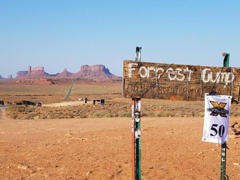 where Forrest stopped running