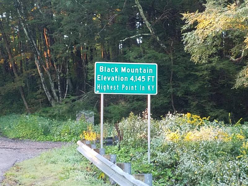 top of Black Mountain
