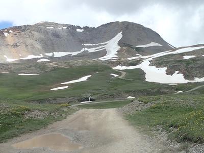 Look at that beautiful road ahead of me.