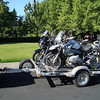 Three guys ready to go ride Colorado and Pikes Peak. Packed and ready to go on Saturday August 2010.  Decided to tow bikes to save tires, bike wear & tear, and time.