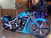 One of the bike show entries
