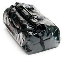 "Ortlieb Dry Bag Q (roll down) XL Black -89 Liters. It rolls down rather then zips so never a broken zipper. Waterproof through hard storm rain. Never leaks.<br />  <a href=""http://www.touratech-usa.com/shop/show.lasso?sku=055-0095&-session=touratech"">http://www.touratech-usa.com/shop/show.lasso?sku=055-0095&-session=touratech</a>:4C793A4D02e2236F1BTiM306504B"