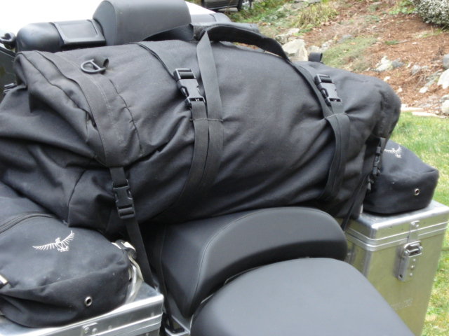 Dirt Bagz Duffle is water resistant