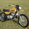 First Bike. Kawasaki 175.
