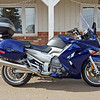 Fifth Bike (after retirement). Yamaha FJR, 1300 cc - 2006 model.<br /> I'm expecting it to make me happy for a year.<br /> 0-60 in 3.5 secs. Enough zoom for me.<br /> Plus, a good road bike, cruise all day at 70-80.