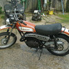 My second bike. Kawasaki 350 Bighorn. In 1972 or so.<br /> Rode it to work daily for two years.