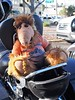 Alf rides?
