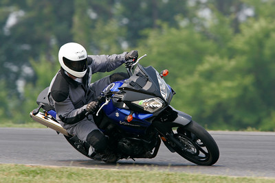Riding at the racetrack '08