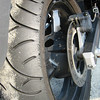 Check out what high speed cornering does to your tires!