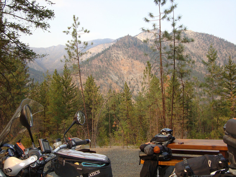 1st camp near Lytton BC along Hwy 1. Camp is well maintained by all measurements.