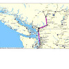 First leg was to get up to Watson Lake and the Yukon.  My first route is from Seattle to Lytton BC; 4hrs 30 min. <br /> Enlarge the photo to view more details if interested - move the mouse curser over the photo and select the size.
