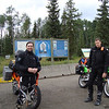 Met these two brothers (Doug and James Lindfors) on the highway just outside of Prince George. Both from California and heading north to ride the Dempster Highway to Inuvik. Since they and I were heading north via the Stewart Cassier Highway we decided to join forces and ride together.