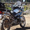 My 2007 BMW R1200GS. TCK 80's tires, all of the usual bike armor, and various accessories to fit my riding style.