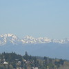 PIc of the Olympic Mountain range