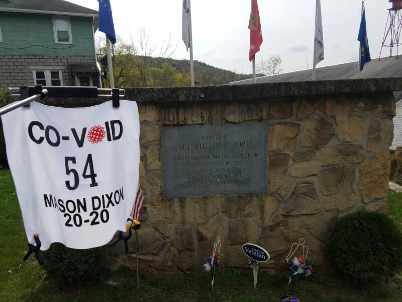 Sgt Port memorial