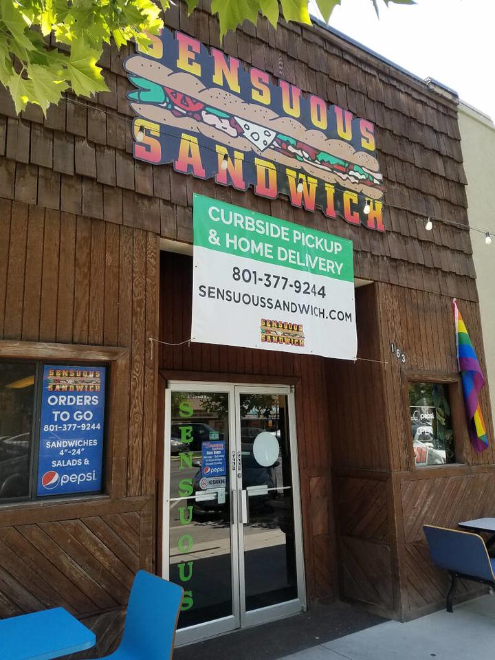 Sensuous Sandwich storefront
