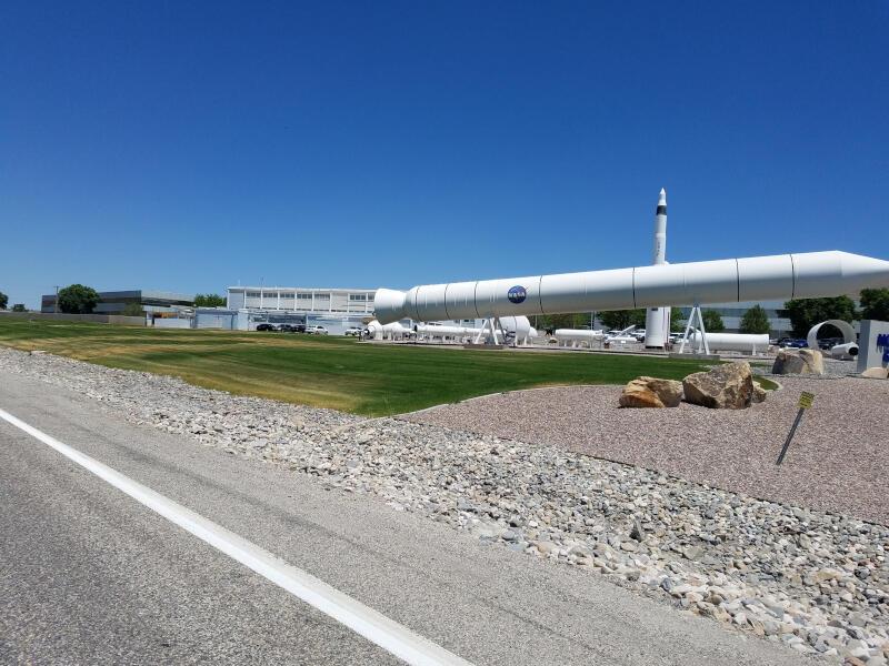 roadside rocket display