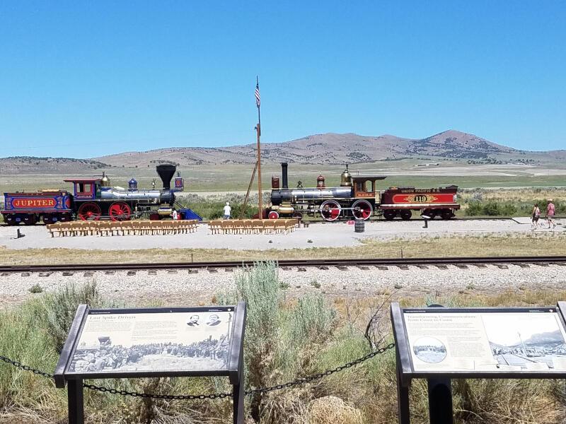 facing locomotives