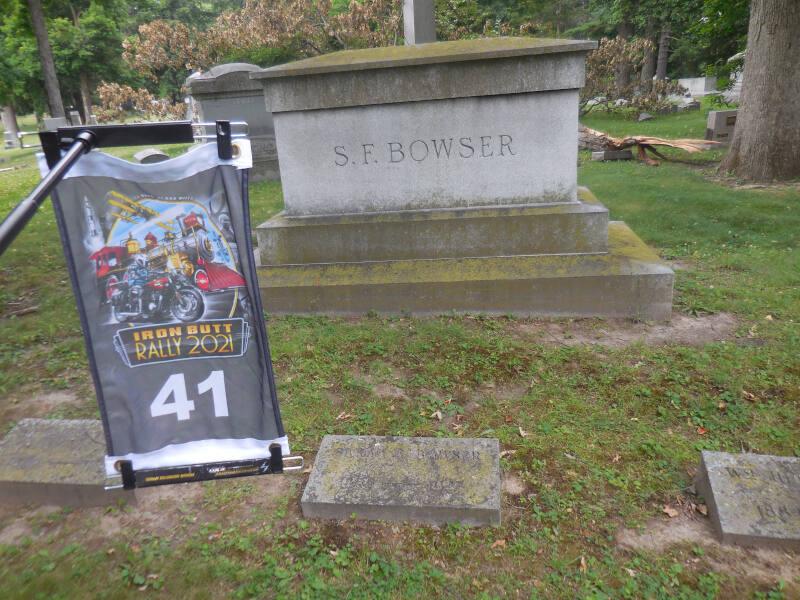 SF Bowser grave stone