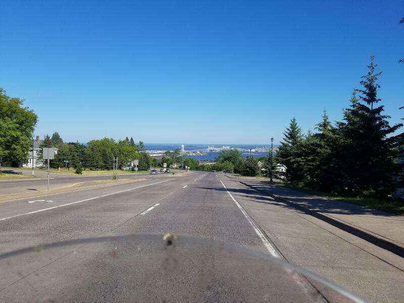 entering Duluth