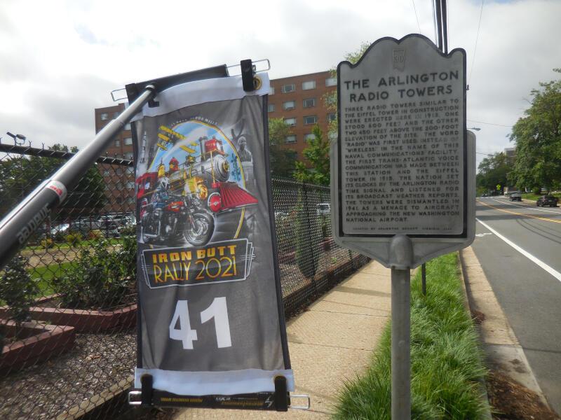 VOICE bonus - Arlington Radio Towers historical marker