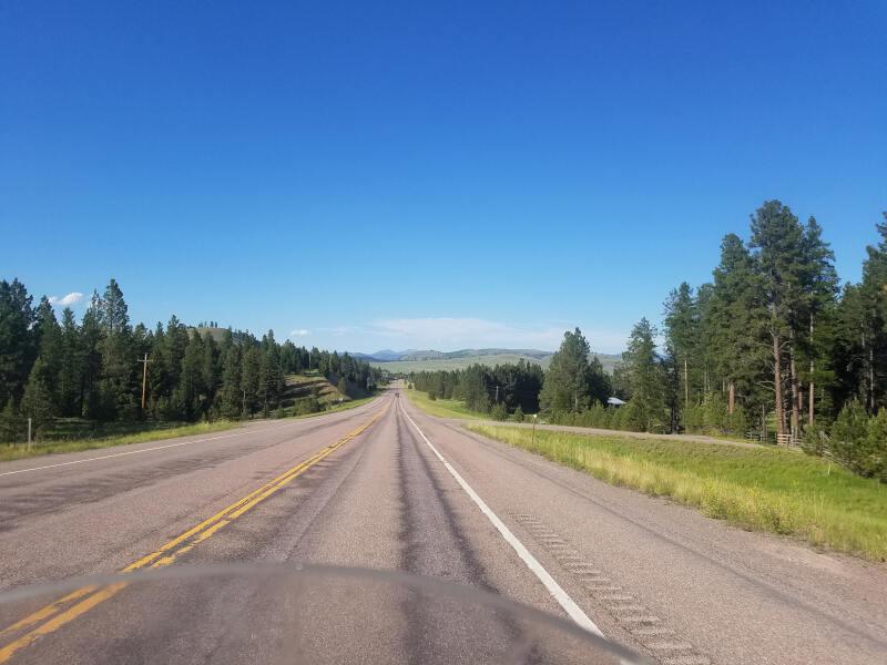 Montana route 200