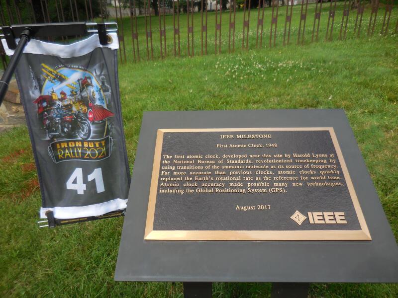 DC bonus - First Atomic Clock historical marker