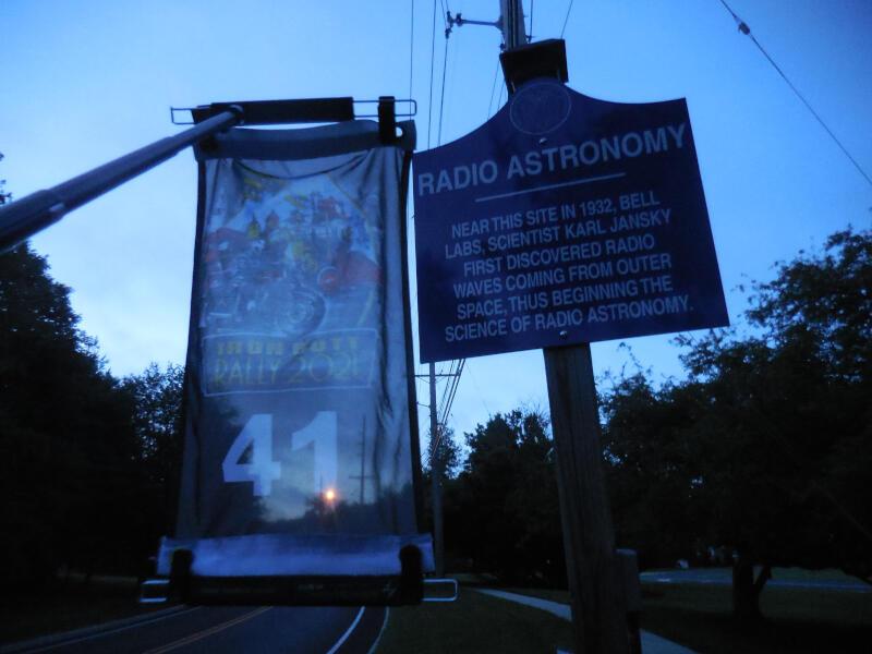 JANSKY bonus - Radio Astronomy historical marker