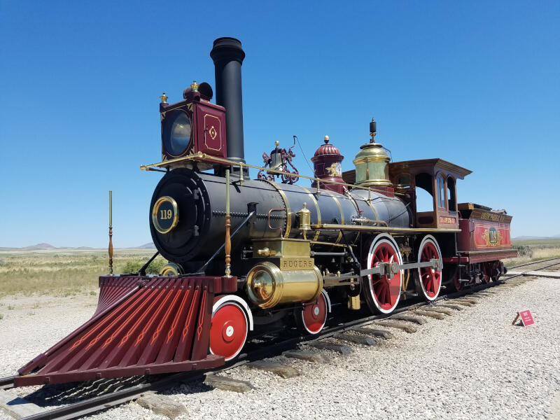Union Pacific 119 locomotive