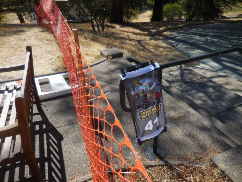 MUIR bonus showing construction fence blockade