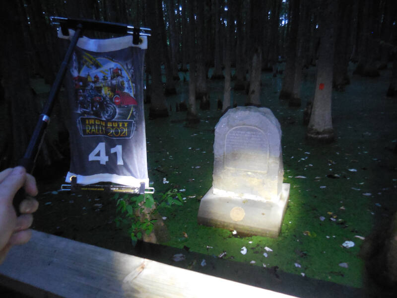 LP bonus - stone marker site of Louisiana Purchase