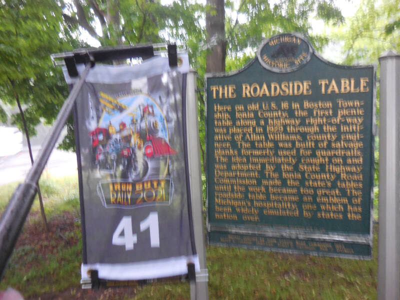 Roadside Table historical marker