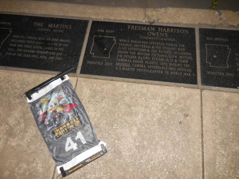 AR bonus - Freeman Harris Owens plaque