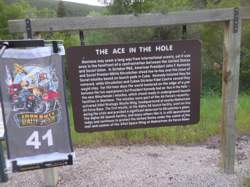 Ace in the Hole sign