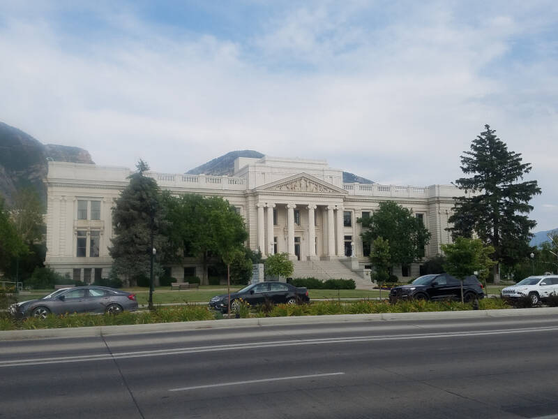 Provo historic courthouse