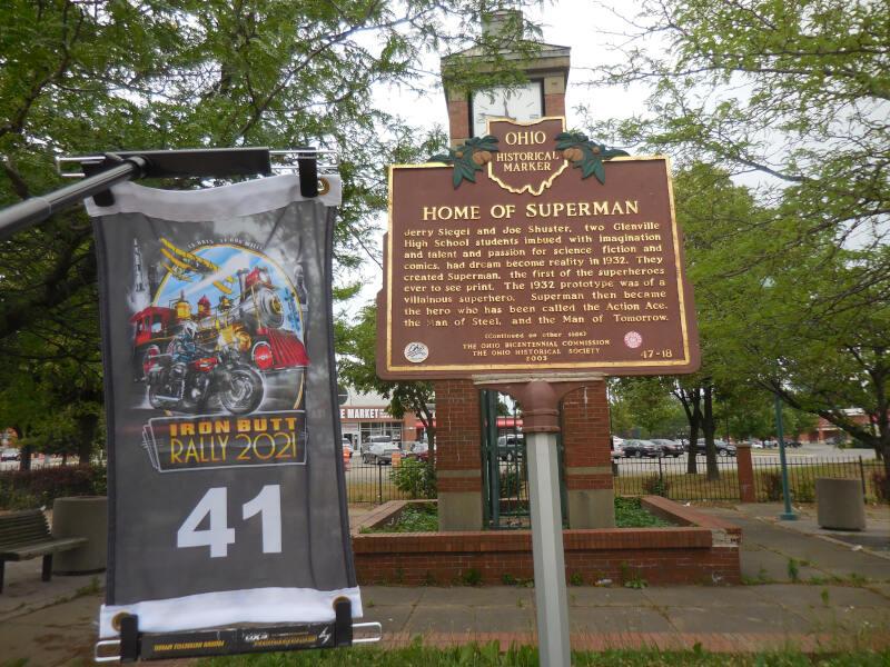 Home of Superman plaque