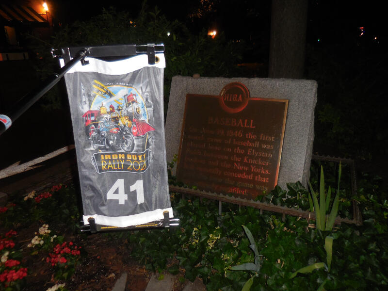 NJ bonus - Baseball plaque
