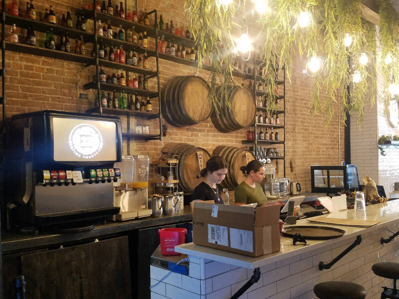 Station 22 root beer kegs