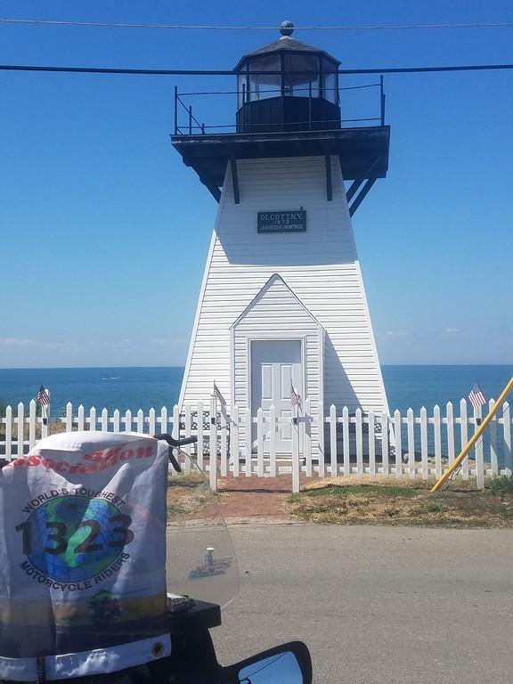 Olcott Replica Lighthouse, Olcott NY