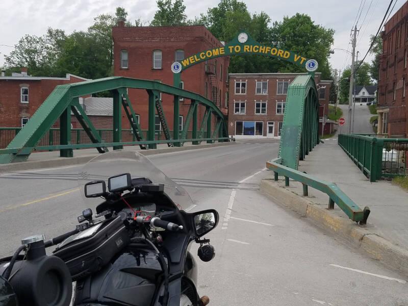 Welcome to Richford bridge arch