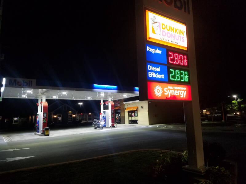 starting gas station in Brattleboro