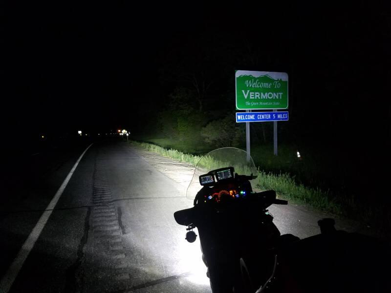 Vermont state line