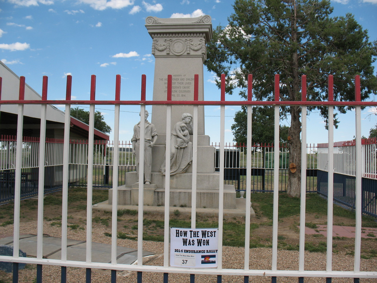 Monument to the Ludlow Massacre